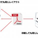 作成したデータが見れない、レイアウトが崩れる!そんな時には「PDF」を活用!!